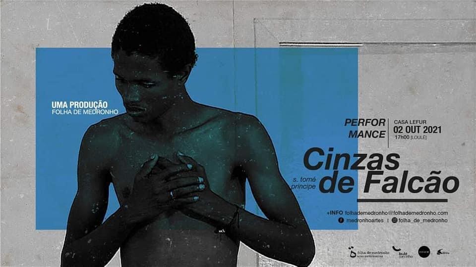 """Dério Quinto no cartaz de """"Cinzas de Falcão"""""""